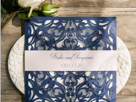 Be unique when creating your wedding Save the Date cards!