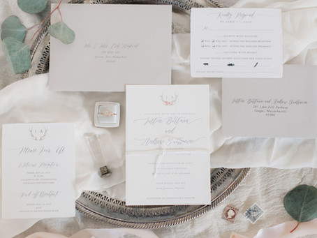 Consider choosing letterpress for your wedding stationery!
