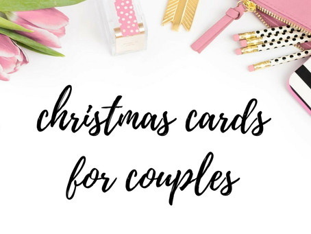 Top Christmas Cards for Couples!
