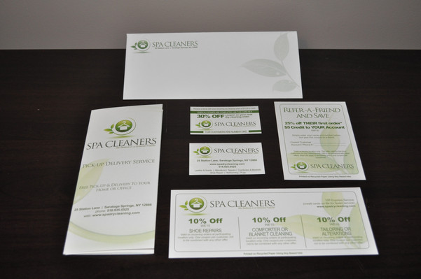 Spa Cleaner Collateral Package
