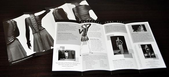Cazenovia College Fashion Brochure