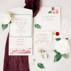 Custom Pocket Folder Wedding Invite