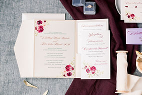 Ashley Elizbeth Design Pocket Wedding Invitation