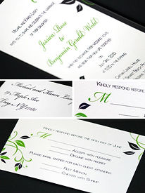 Whimsical Wedding Invitation Collection