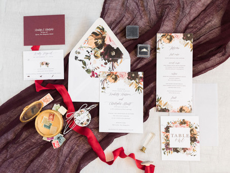 The Anatomy of a Modern Wedding Invitation Suite
