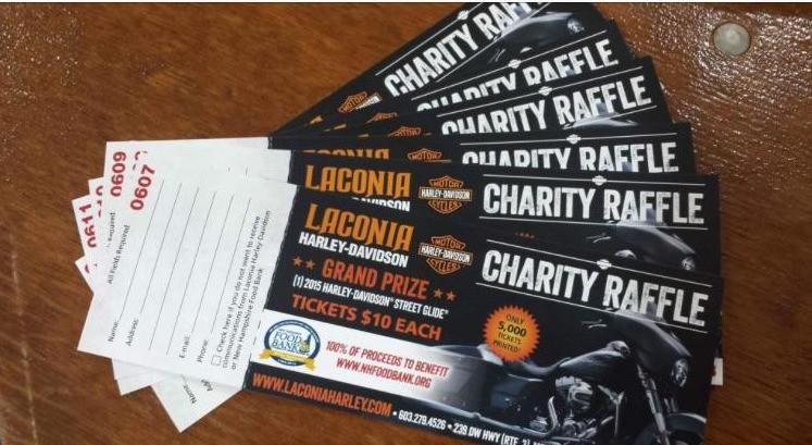 Harley-Davidson Bike Week Raffle Tickets