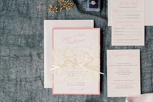 Diane & Charlie Wedding Invitation