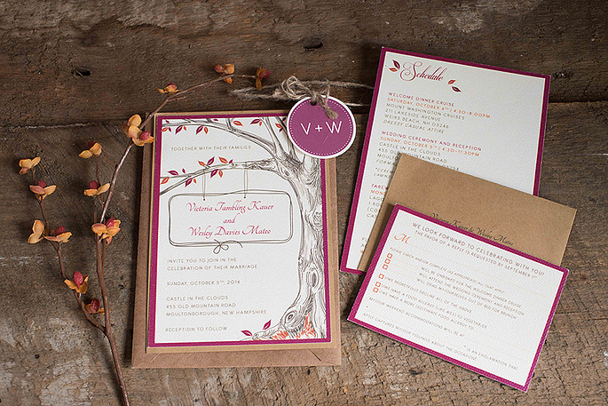 Ashley Elizabeth Designs Custom WEdding Invitations