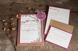 Ashley Elizabeth Designs Custom WEdding Invitations