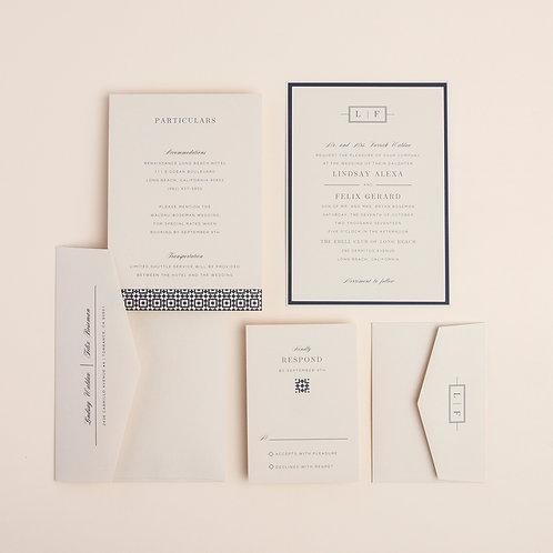 Perfect Type Wedding Invitation