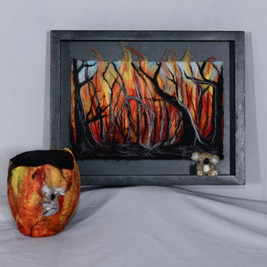 Burn- Textiles Highly Commended