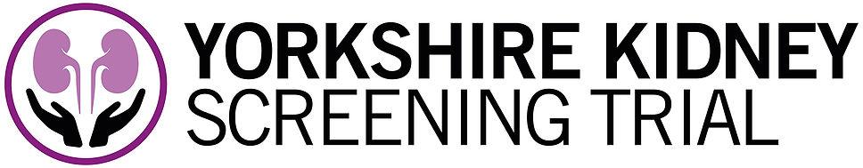 Yorkshire Kidney Screening Trial logo -