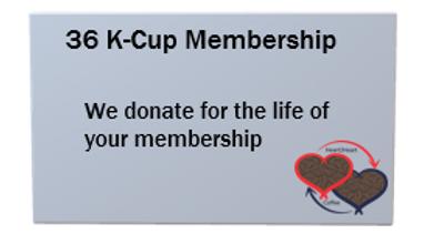 36 K-Cup Membership