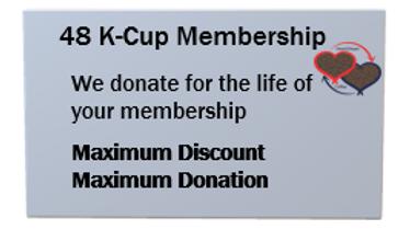 48 K-Cup Membership