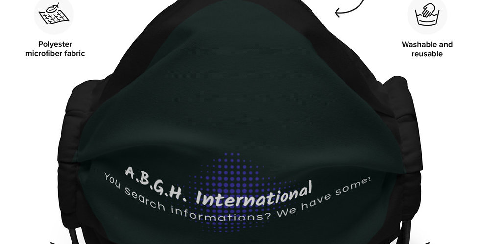 Face mask with our logo