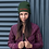 """Thumbnail: Embroidered beanie """"Stay creepy"""""""