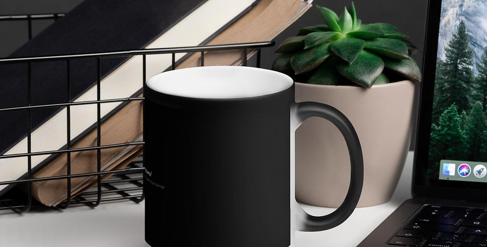 Mat, black magic cup
