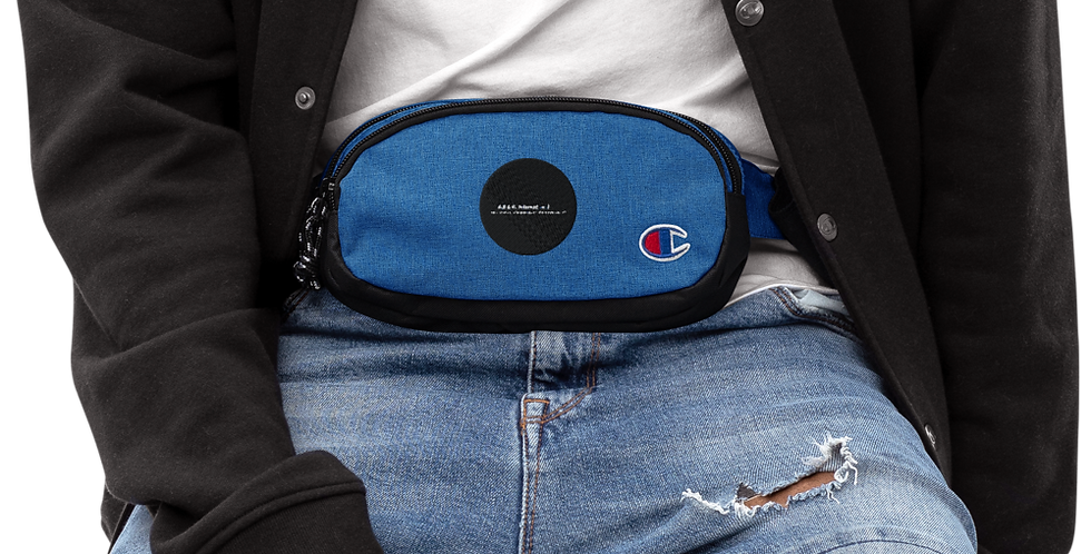 Champion-belt pouch with our logo