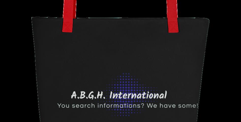 Beach-bag with our logo