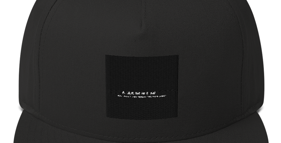 Flat bill-cap with our logo