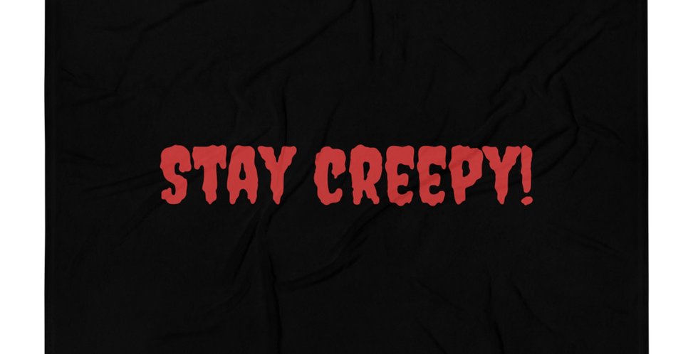 """Plaid """"Stay creepy"""""""