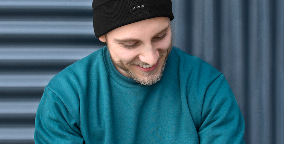 Beanie with our logo