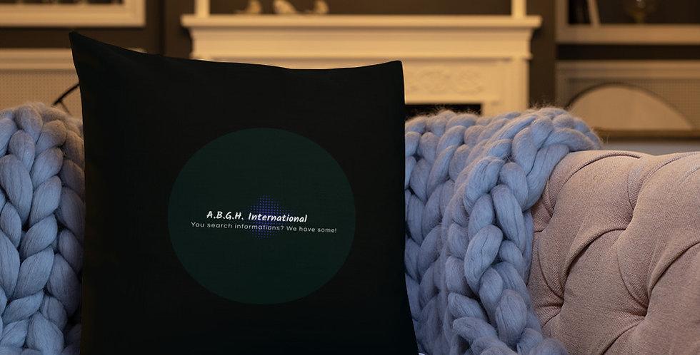 Premium Pillow with our logo & slogan