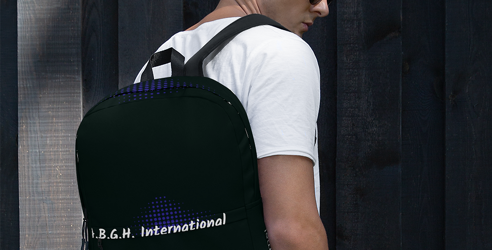 Backpack with our logo