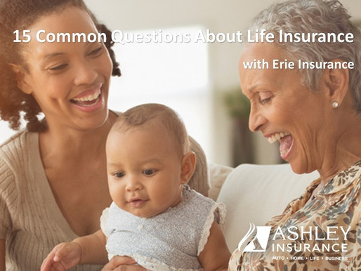 15 Common Questions About Life Insurance