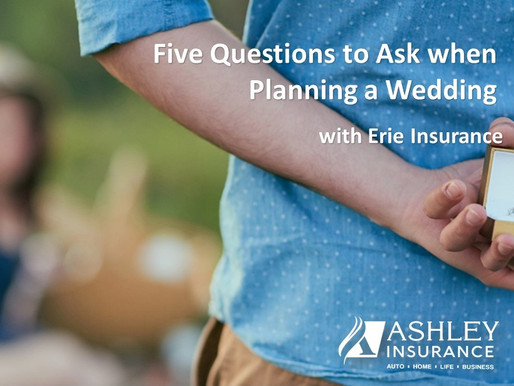 Five Questions to Ask When Planning a Wedding