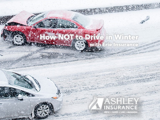How NOT to Drive in Winter