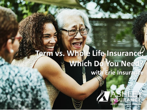 Term vs. Whole Life Insurance: Which Do You Need?