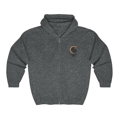 OTRBG BOOM Unisex Heavy Blend™ Full Zip Hooded Sweatshirt