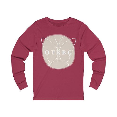OTRBG Butterfly Unisex Jersey Long Sleeve Tee