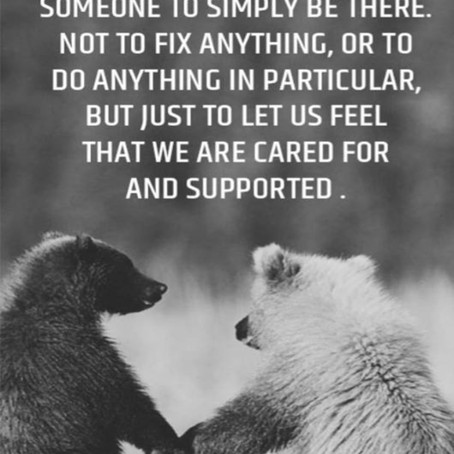 Care & Support go a long way!