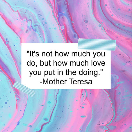 How Much Love Do You Put In?