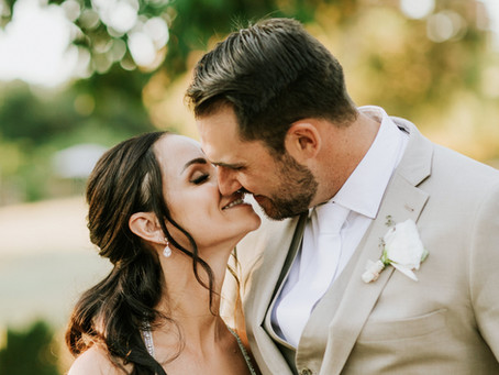 Ben Zorn and Stacy Santilena's Magical Summer Wedding