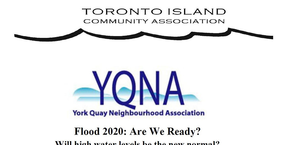 Flood 2020: Are we ready? RSVP to info@yqna.ca