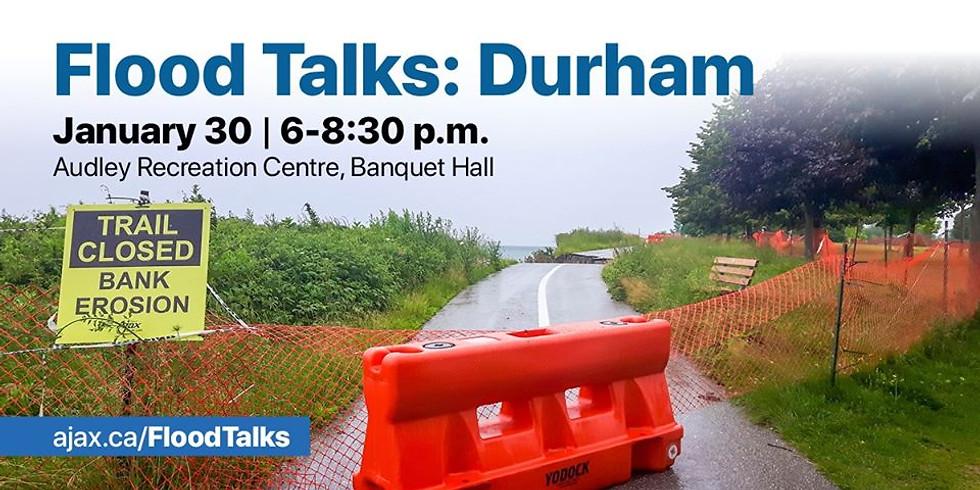 Flood Talks Durham