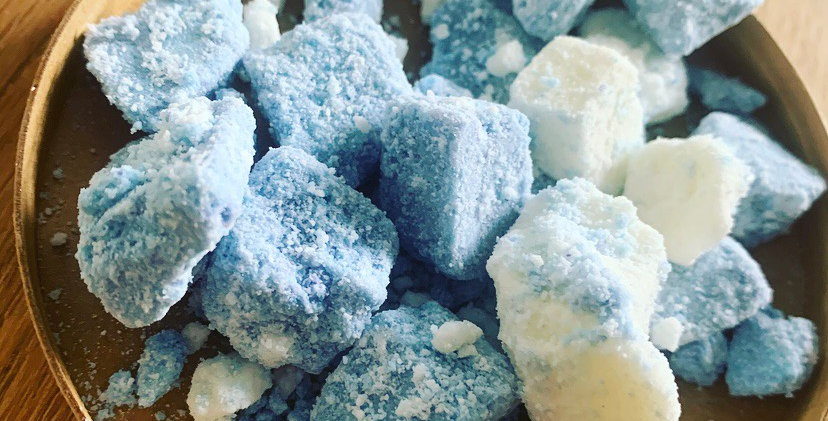 Bubble Crumble Blueberry & Vanilla 500mg strength