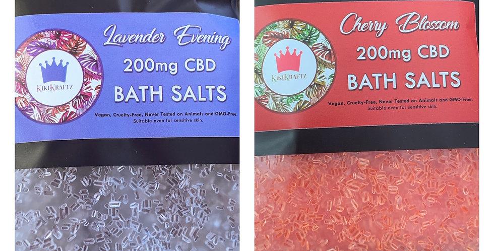 Bath Salt Set strength 200mg