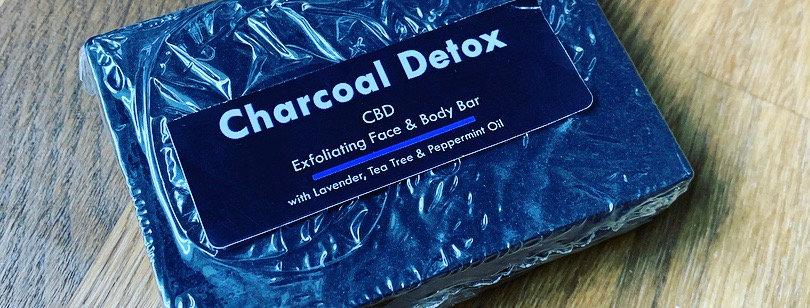 Charcoal Detox Face and Body Bar 35mg