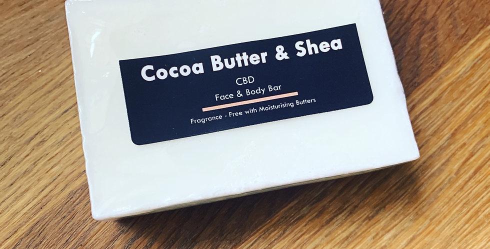 Cocoa Butter & Shea Face & Body Bar