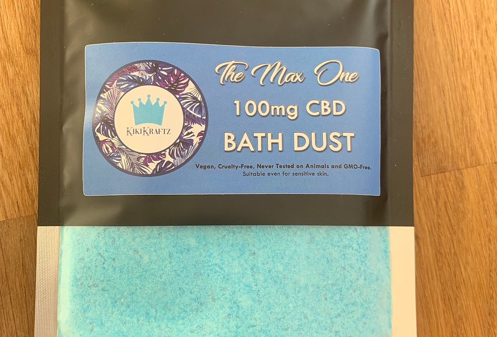 Max One Bath Dust Strength 100mg