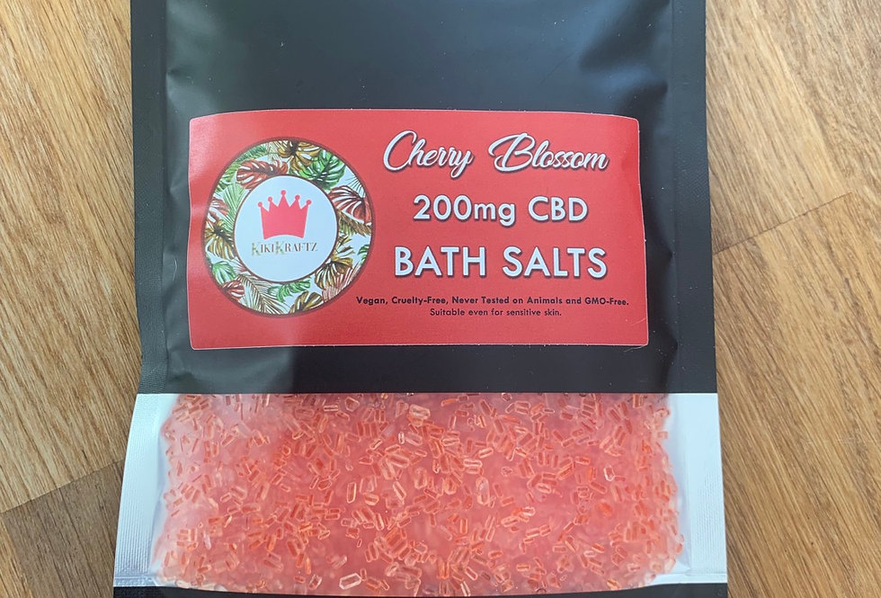 Cherry Blossom Bath Salts Strength 200mg