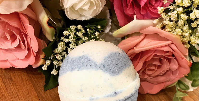 Blueberry & Vanilla Bath Bomb Strength 50mg