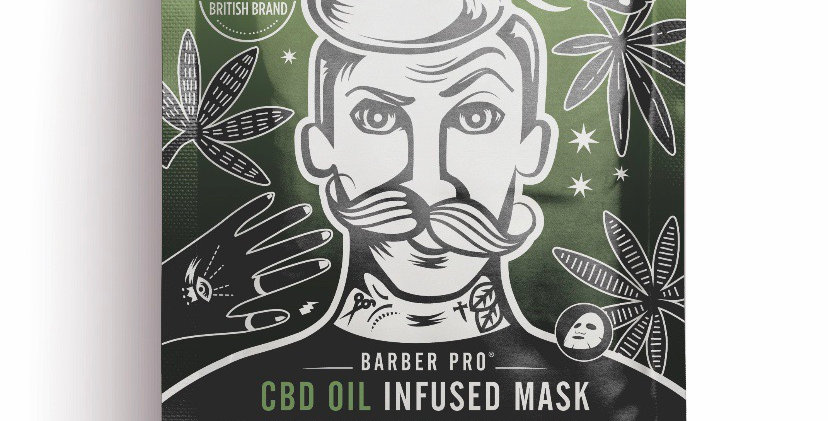 Infused Face Mask (For Him)