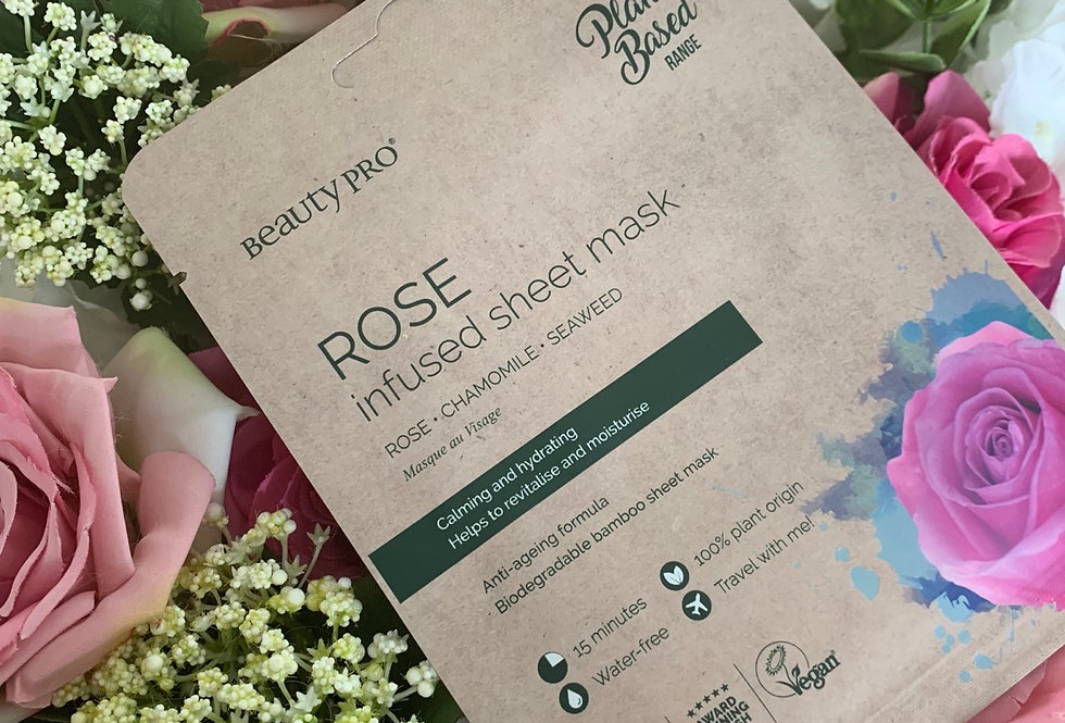 Rose Infused Face Mask