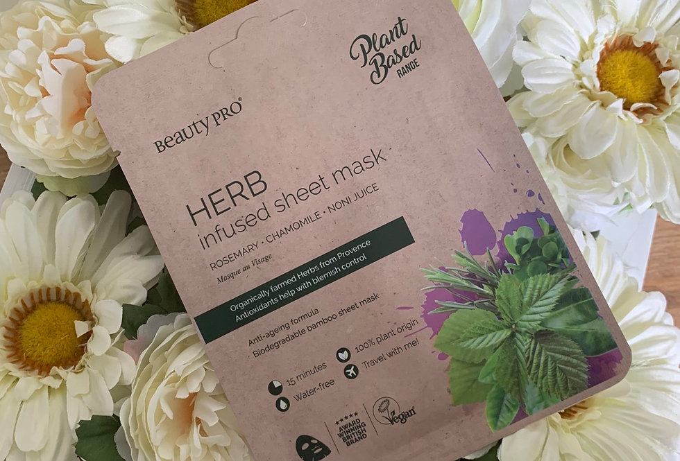 Herb Infused Face Mask