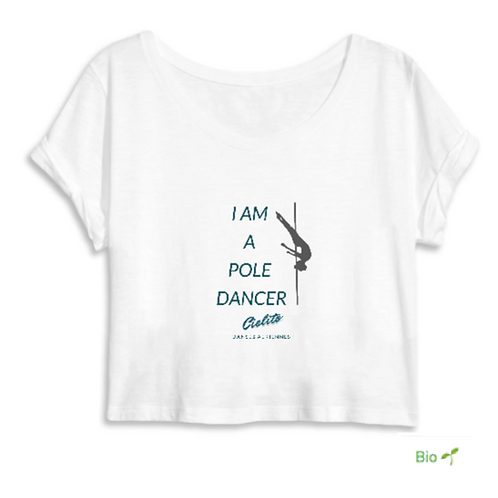 Crop Top 100% bio danseuse